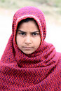 Afghan girl Stock Images