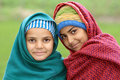 Photo : Afghan girls with