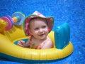 Na vode dieťa
