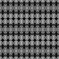 Africa B&W pattern Stock Images