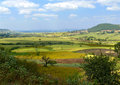 Africa, Ethiopia. Landscape of the African nature. Mountains, va Royalty Free Stock Photo