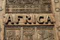 Africa Sign Stock Image