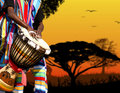 Africa sound Royalty Free Stock Photo