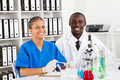 African american biologist Royalty Free Stock Photo