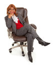African American Businesswoman Stock Photo
