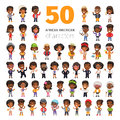 African American Characters Royalty Free Stock Photo