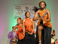 African American Dancers Royalty Free Stock Photo