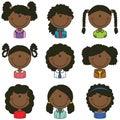 African-American Girls Avatar