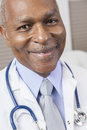 African American Man Doctor With Stethoscope Royalty Free Stock Photos