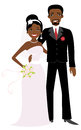 African American wedding Royalty Free Stock Photos