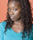 African american woman Arkivfoto