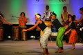 African American Youth Dancers Royalty Free Stock Photo