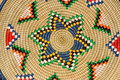 African basket Royalty Free Stock Photo