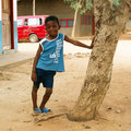 African boy - Ghana Royalty Free Stock Photography