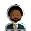 African businessman ethnicity avatar character