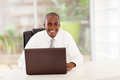 African businessman in office Stock Photography