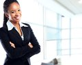 African businesswoman Royalty Free Stock Photography