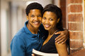African college couple Stock Photography
