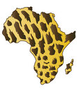 African continent. Royalty Free Stock Photo