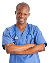 African doctor Royalty Free Stock Image