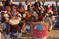 African drummers Royalty Free Stock Photo