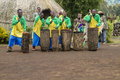 African drummers - Rwanda Royalty Free Stock Photo