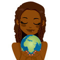 African Earth Woman Stock Photography