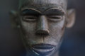 African face statuette Royalty Free Stock Photo
