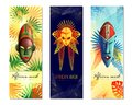 African Festive Vertical Banners