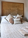 African folk stile bedroom Stock Images
