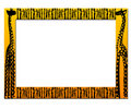 African frame Royalty Free Stock Photos