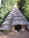 African hut Royalty Free Stock Photo
