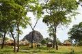African Huts - Zambia Royalty Free Stock Photo