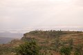 African landscape guge mountains with lake chamo in the background ethiopia Royalty Free Stock Image