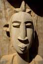 African mask artwork dogons sculpture in mali made in wood Royalty Free Stock Photo