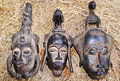 African masks Stock Image