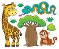 African nature theme set 1