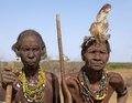 African old women Royalty Free Stock Photo