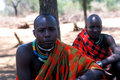 African people: Young Pokot shepherd Stock Photos