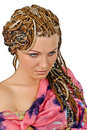 African plaits Stock Images