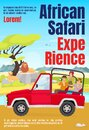 African Safari Experience Magazine Cover Template