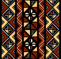 African seamless pattern Stock Images
