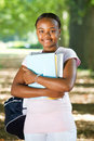 African student Stock Photography