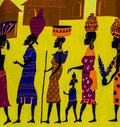 African tribe Royalty Free Stock Photo
