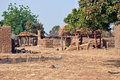 African village Royalty Free Stock Photo