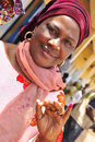 African voter  Senegal 2012 Royalty Free Stock Image