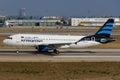 Afriqiyah Airways Airbus Royalty Free Stock Photo
