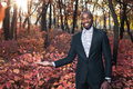 Afro american business man portrait03 Royalty Free Stock Photo