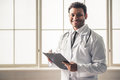 Afro American doctor Royalty Free Stock Photo