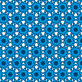 Afro Blue Pattern